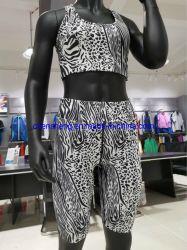 Factory Wholesale Low MOQ Good Quality Customized Fashion Lady Fitness Gym Sport Bra Leggings Suit Wear