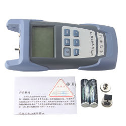 FTTH Fiber Optical Power Meter Fiber Optical Cable Tester -70dBm~+10dBm Sc/FC Connector