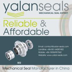 YALAN SE2 Cartridge Mechanical Seal for Paper Pulp Pumps, Flue Gas Desulphurization, Deashing System and Slurry Pumps