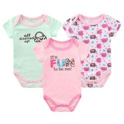 3d16061c0 Summer Soft Toddler Wholesale Wears Newborn Cotton Clothes Clothing Baby  Romper Set