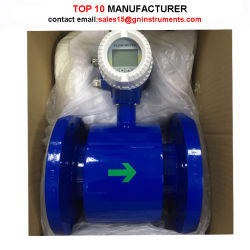 Rubber Lining Cement Sludge Flow Meter Low Cost Slurry Magnetic Flow Meter