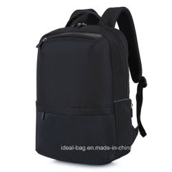 Custom Fashion Canvas Laptop USB Charger Sports School Backpack