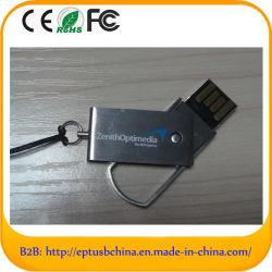 Swivel Metal USB Stick with Keychain (EM-508)