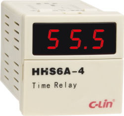 Intelligent Time Relay / Count-Down Timer (HHS6A-4)