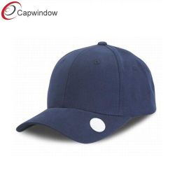 Six Panel Constructed Golf Mark Cap with a Hook & Loop Closure