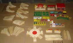 Wooden Train Track with En71 Certificate