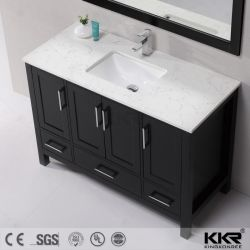 Silestone Quartz Stone Vanity Top With Cabinet For Bathroom