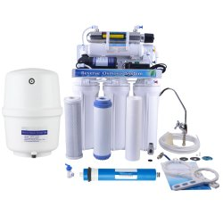 R. O. System Water Filter with UV Sterilizer
