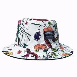 Cap Headwear Factory Custom Summer Promotional Sport Cap Fashion Cotton China Two Side Bucket Hat