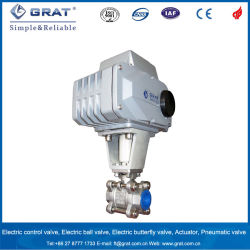 Grat Wholesale Stainless Steel Electric Mini Ball Valve