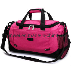 Hot Sale Fashion out door Sport Leisure tote Weekend Overnight Duffel travel bag