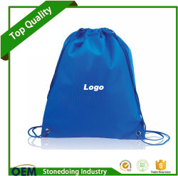 Can Add Logo Cinch Pack Use and Custom Drawstring Nylon Bag