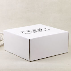 Corrugated Matte White Cardboard Inner Carton Shipping Cardboard Boxes for Packaging
