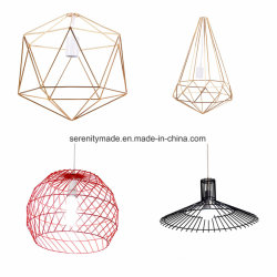 Wholesale Lamp Shades Accessories Modern Metal Wire Lamp Shade