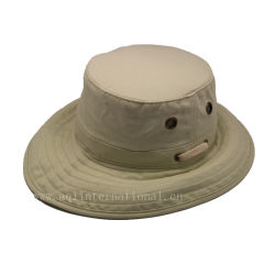 Wholesale Blank Bucket Hat with String 100% Polyester Waterproof Plain  Bucket Hat Wholesale e5e4d2769131
