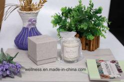 Hot Sell Scented Soy Candle in Glass Jar for Decorative with Gift Box