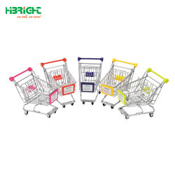 Wholesale Mini Grocery Shopping Plastic Trolley Car