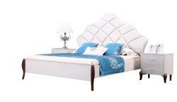 European Light Luxury King Size High Class Classic Design Bedroom Furniture