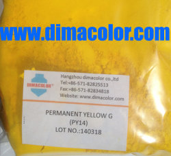 Organic Pigment Yellow 14 (PERMANENT YELLOW G GT GR GW) Ink Paint Plastic