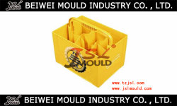 Injection Plastic Beer Case with Handle Mould