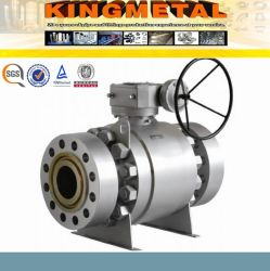 Handle Operated Trunnion Mounted Ball Valve
