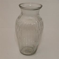 Professional Oval Shaped Glass Vase Made in China