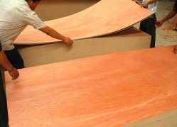 Construction Material Binatngor Okoume Face MDF Particle Board Plywood