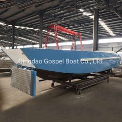 Offshore Tourist Aluminum Landing Craft with Cabin