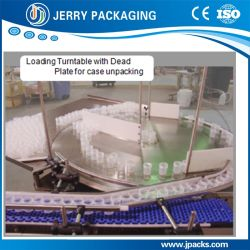 Automatic Double Rail Bottle Accumulating and Loading Turntables