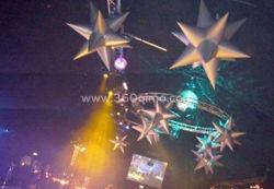 Inflatable Illuminated Decoration, Decoration Lighting 12-Point Star (BMDL238)