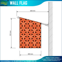 Wholesale Price Custom Printed Vinyl Wall Flags (B-NF14P03009)