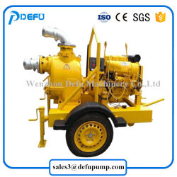 Jt High Performance Sludge Transfer Diesel Engine Slurry Pump with Trailers