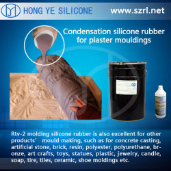 RTV-2 Silicone Rubber for Resin Garden Products (635#)