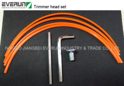 Grass Brush Cutter Aluminum Nylon Trimmer Head
