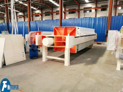 High Efficiency Plate and Frame Filter Press Machine for Sludge Handling