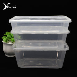 Good Quality Clear Microwave Disosable Plastic Food Container