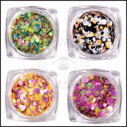 Metal Round Glitter Decoration, Shinny Glitter Powder Wholesale