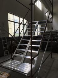 Aluminum Staircase For Ring Lock System