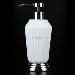 Glossy White Ceramic Bath Accessories with Hotel / Home Bathroom Set