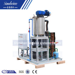 Seawater Use Stainless Steel Slurry Ice Machine with Bitzer Compressor