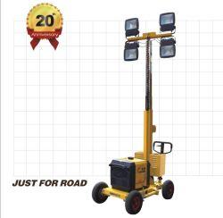 OEM Stadium Gasoline Vehicle Trailer Mounted Construction Lighting Generator Price LED Flood Mobile