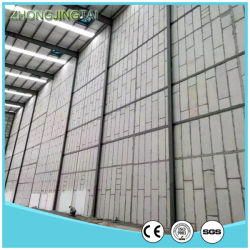 Fireproof New Building Material EPS Cement Sandwich Panel for Room
