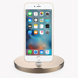 High Quality Metal Aluminum Alloy Docking Staiton for iPhone 7/7plus/6/6s/5/5s