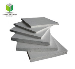 No Chloride MGO Board / MGO Sulphate Board for Steel Frame Construction