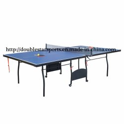 New Model 15mm/18mm Table Tennis Table with Wheel Wholesale