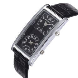 Fashionable Design Double Movement Watch
