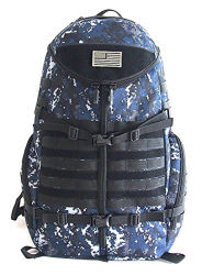 Tactical Camouflage Molle Combat Travelling Camping Hiking Mountain Climbing Hunting Sports Waterproof Military Assault Backpack