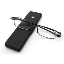 345a02b8bb3 High Quality Metal Folding Reading Glasses with Case Foldable Reading  Glasses for Old People