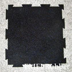 Sport-Lock Rubber Tile/Tight-Lock Rubber Tile