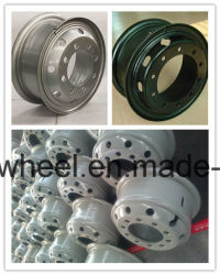 High Quality Truck/Bus Tubeless Steel Wheel Rim/Hub, Heavy Truck Steel Wheel Hub